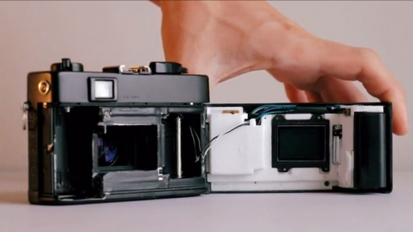 Amateur camera hacker aims to put Sony A7 guts into Leica M3