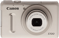 Canon's PowerShot S100 digital camera. Copyright © 2011, Imaging Resource. All rights reserved. Click to read our Canon S100 review!