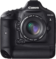 Canon's EOS-1D X digital SLR. Photo provided by Canon. Click for our Canon EOS-1D X review!