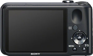 Sony's Cyber-shot DSC-H90 digital camera. Click for a bigger picture!