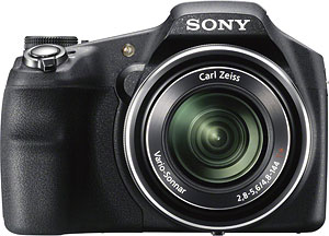 Sony's Cyber-shot DSC-HX200V digital camera. Click for a bigger picture!