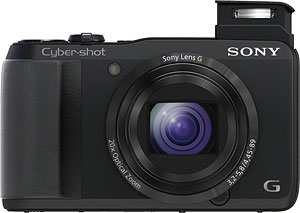Sony's Cyber-shot DSC-HX20V digital camera. Click for a bigger picture!