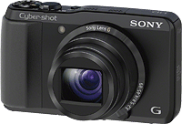 Sony's Cyber-shot DSC-HX20V digital camera. Click here to read our Sony HX20V preview!