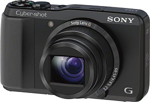 Sony's Cyber-shot DSC-HX30V digital camera. Click for a bigger picture!