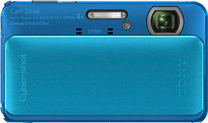 Sony's Cyber-shot DSC-TX20 digital camera. Photo provided by Sony Electronics Inc. Click for a bigger picture!