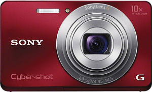 Sony's Cyber-shot DSC-W690 digital camera. Photo provided by Sony Electronics Inc. Click for a bigger picture!