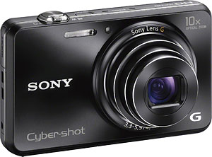 Sony's Cyber-shot DSC-WX150 digital camera. Photo provided by Sony Electronics Inc. Click for a bigger picture!