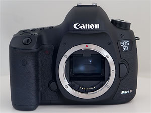 Canon's EOS 5D Mark III digital SLR. Copyright © 2012, Imaging Resource. All rights reserved. Click for a bigger picture!!