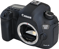 Canon's EOS 5D Mark III digital SLR. Click here for our Canon 5D Mark III preview!