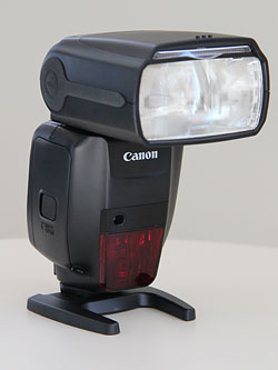 Canon's Speedlite 600EX-RT flash strobe. Copyright © 2012, Imaging Resource. All rights reserved. Click for a bigger picture!!