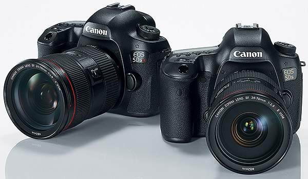 go big or go home 50mp full frame canon 5ds and 5ds r unveiled worlds highest res full frame dslrs