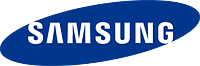 Samsung's logo. Click here to visit the Samsung website!