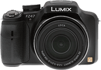 Panasonic Lumix DMC-FZ47 digital camera. Copyright © 2012, The Imaging Resource. All rights reserved.
