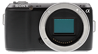 Sony Alpha NEX-C3 compact system camera. Copyright © 2011, The Imaging Resource. All rights reserved.