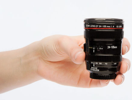 Lens-shot-glass
