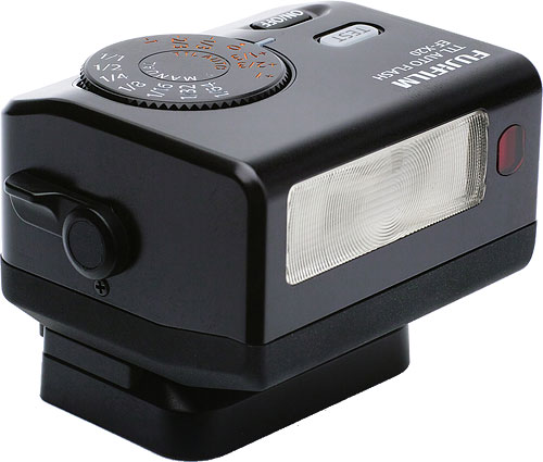 Fujifilm's EF-X20 flash strobe. Photo provided by Fujifilm Corp. Click for a bigger picture!