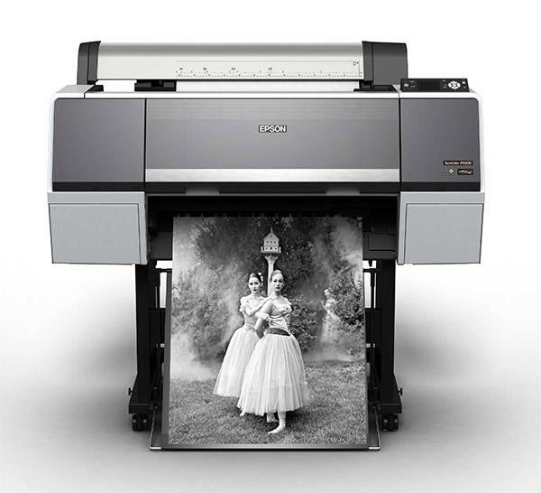 Epson SureColor P6000. 24 inch, 8-color printer