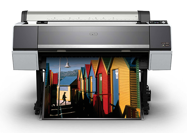 Epson's new large format printers: Blacker than black blacks