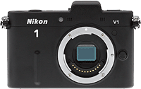 Nikon V1 compact system camera. Copyright © 2012, The Imaging Resource. All rights reserved.