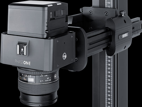 The Phase One iXR camera system. Photo provided by Phase One A/S. Click for a bigger picture!
