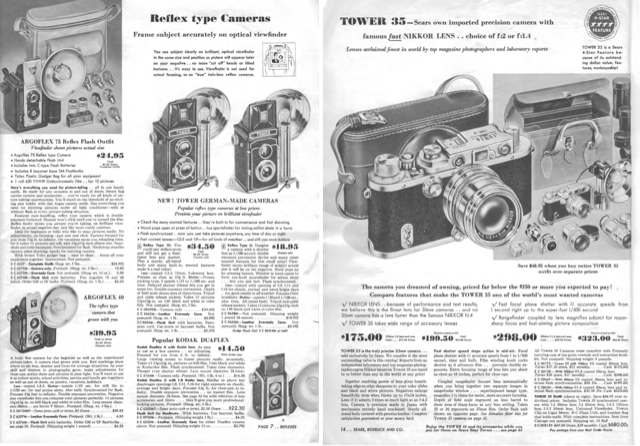 A look inside a 60 year old Sears Photography Catalog shows