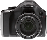 Canon PowerShot SX40 HS digital camera. Copyright © 2012, The Imaging Resource. All rights reserved.
