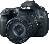 Canon's EOS 60Da digital SLR. Photo provided by Canon. Click for our Canon EOS 60D review!