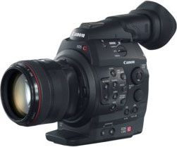Canon's Cinema EOS C300 camera. Photo provided by Canon.