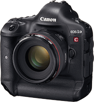 Canon's EOS-1D C digital SLR. Photo provided by Canon USA Inc.