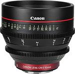 Cinema EOS prime: the CN-E50mm T1.3 L F. Image provided by Canon Inc. Click for a bigger picture!