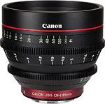 Cinema EOS prime: the CN-E85mm T1.3 L F. Image provided by Canon Inc. Click for a bigger picture!