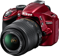 Nikon's D3200 digital SLR. Photo provided by Nikon. Click for our Nikon D3200 preview!