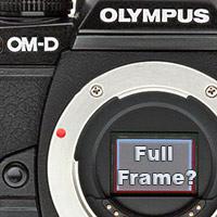 Is Olympus preparing to release a full-frame camera? Full-frame lens