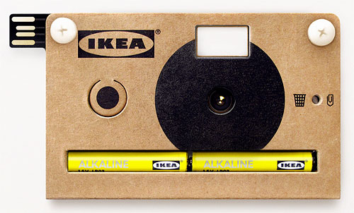 "Ikea's KNÃ""PPA digital camera. Image provided by Teenage Engineering AB. Click for a bigger picture!"