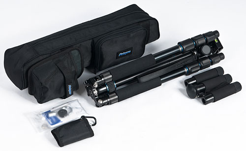The Rollei Fotopro CT-5A tripod kit. Photo provided by RCP - Technik GmbH & Co KG. Click for a bigger picture!