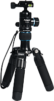 The Rollei Fotopro CT-5A tripod, shown with the short legs attached. Photo provided by RCP - Technik GmbH & Co KG.