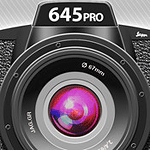 The 645PRO app icon. Image provided by Jaggr. Click for the 645PRO website!