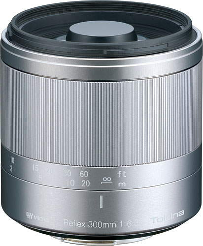 The Tokina Reflex 300mm F6.3 MF MACRO lens. Image provided by Kenko Tokina Corp. Click for a bigger picture!