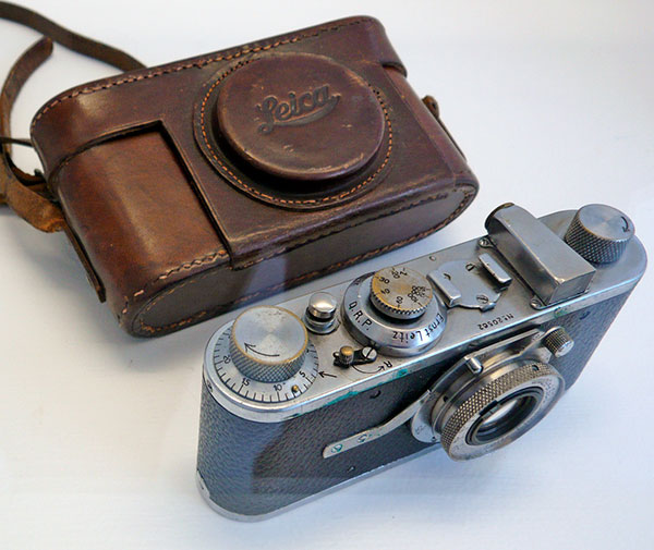 The tools of the trade: Five of the cameras used by seven