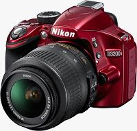 Nikon's D3200 digital SLR. Photo provided by Nikon. Click for our Nikon D3200 preview!