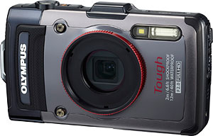 Olympus' Tough TG-1 iHS digital camera. Photo provided by Olympus. Click for a bigger picture!
