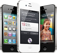 Apple's iPhone 4S. Image courtesy of Apple Inc.