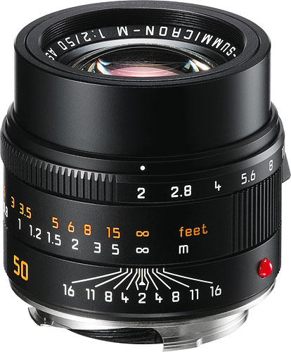 The Leica APO-Summicron-M 50 mm f/2 ASPH. lens. Photo provided by Leica Camera AG. Click for a bigger picture!