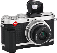Leica's X2 digital camera. Photo provided by Leica Camera AG. Click for our Leica X2 preview!