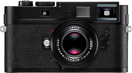 The Leica M Monochrom is the first 35mm full-frame camera with a monochrome sensor. Photo provided by Leica Camera AG. Click for a bigger picture!