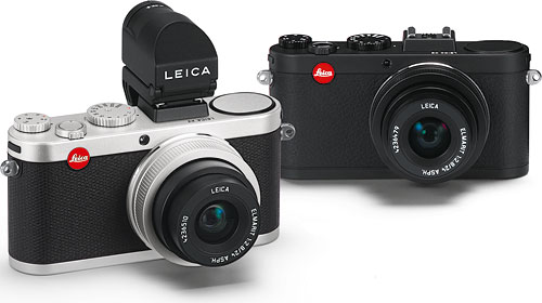 The most notable change in the Leica X2 is support for an electronic viewfinder accessory. Photo provided by Leica Camera AG. Click for a bigger picture!