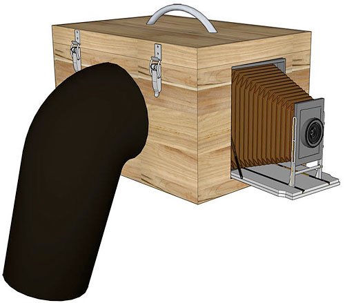 Lukas Birk's design for the Box Camera 4.0. Rendering provided by Lukas Birk. Click for a bigger picture!