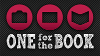 One for the Book's logo. Click here to visit the One for the Book website!