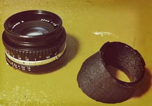 Printable-tilt-shift-lens