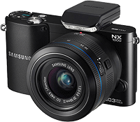 Samsung's NX1000 compact system camera. Click for our Samsung NX1000 preview!